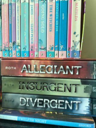 Allegiant, Insurgent and Divergent Set