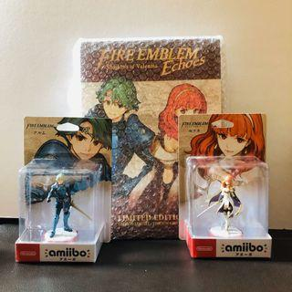 Fire Emblem Echoes Limited Edition & Amiibos