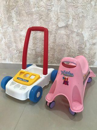 For kid 2-3 walker 2 for $10
