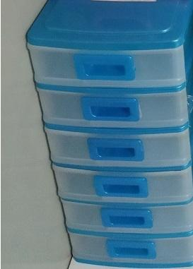 Assorted Lot of Multi Purpose Storage Plastic Drawers
