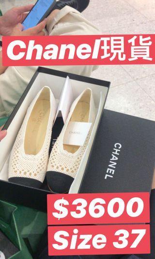 全新Chanel平底鞋有盒有單