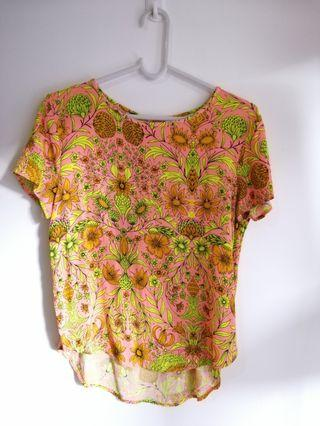 Floral Top blouse H&M
