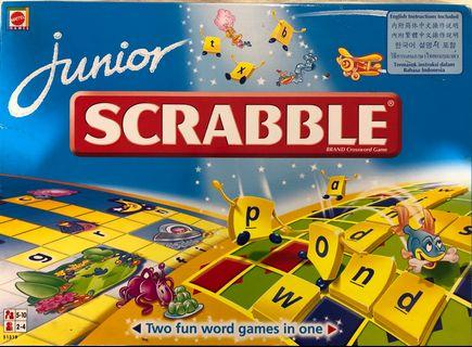 Mattel Scrabble Board Game Junior