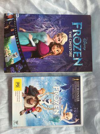 Frozen DVD and Comic Set