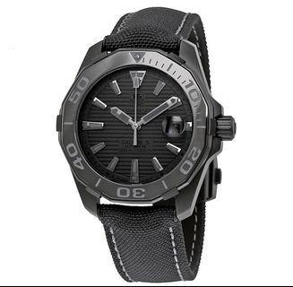 Tag Heuer Aquaracer Calibre 5 Automatic Black Dial Watch WAY218B.FC6364