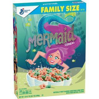 🚚 Mermaid XL Breakfast Cereal - 20.7oz - General Mills
