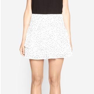 Camilla & Marc Polka Dot Layered Skirt