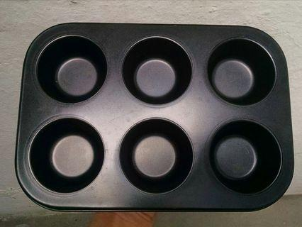 Muffin mold tray