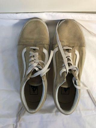 Vans Beige/Brown/Taupe Colour Size 7