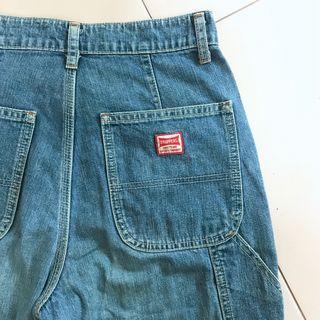 Brappers Vintage Highwaist Cargo Utility Straight Pants