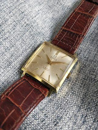 Vintage Titus Square TV Case Watch