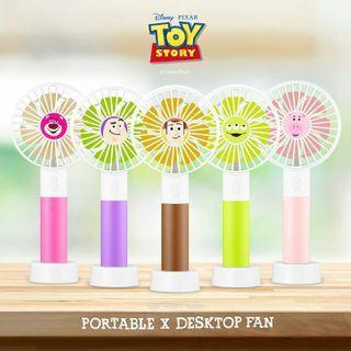 Disney Toy Story 4 行動x桌上兩用風扇 台灣InfoThink Portable usb Fan