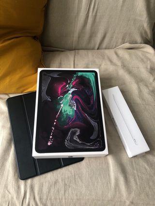 🚚 iPad Pro 11 wifi 256GB + Apple Pencil2 + Apple Care+