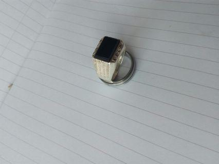 Silver men's ring.925