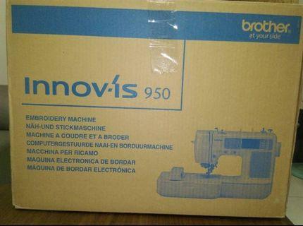 【日本brother】NV-950 虹彩星鑚刺繡縫紉機