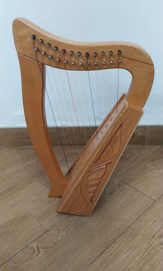 12弦小豎琴 12 strings harp babyharp miniharp