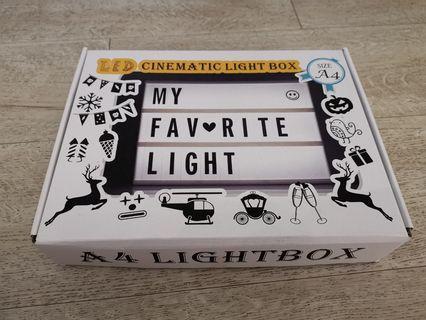 🚚 A4 Lightbox