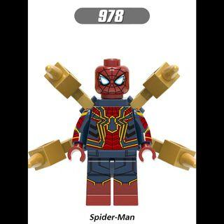 Lego Compatible Ironspider
