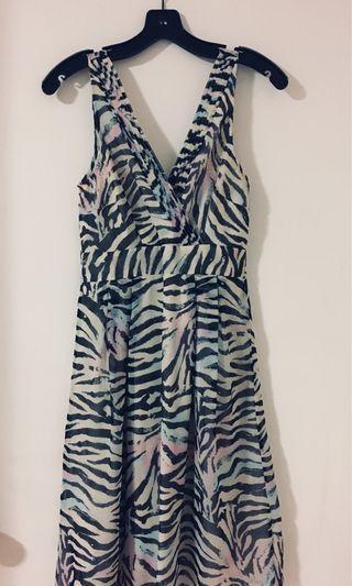 Pretty VERO MODA zebra sundress