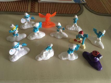 🚚 Smurfs collection