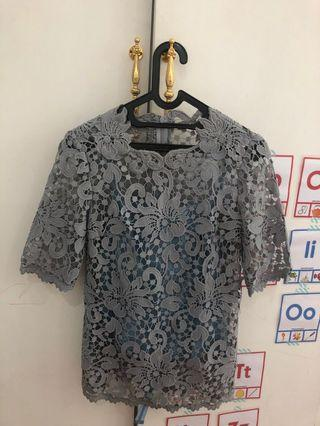 Brokat prada top