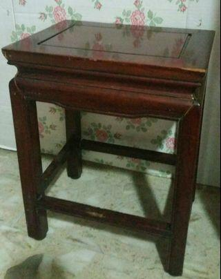 Antique Rosewood Table (Small)