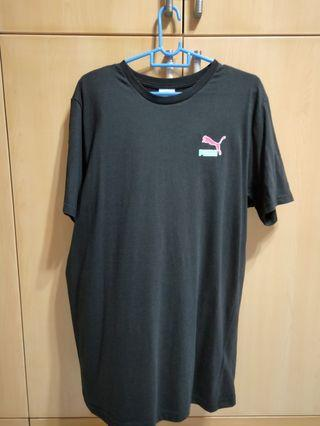 Selling puma tee with back design