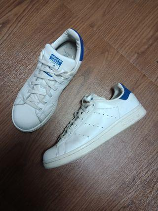 🚚 adidas Stan Smith 藍尾 23.5cm 正品