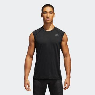 adidas Alphaskin sport fitted tank top vest運動背心 (nike, under armour)