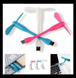 Kipas USB tekuk fleksibel