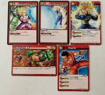 Dragonball KAI Special and Normal Cards