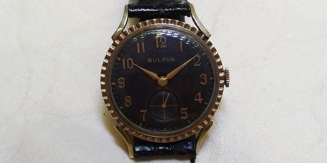 古董BULOVA 上鏈錶