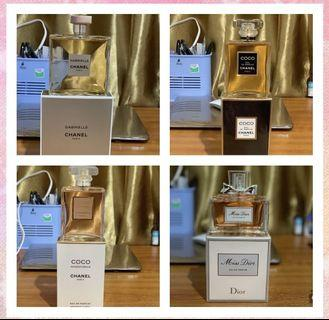 parfum original, Chanel,missdior,original counter