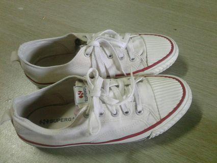 Superga rubber shoes