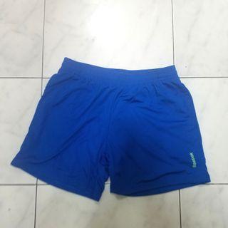 Celana Olahraga biru reebok size M