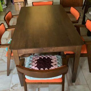 Dining Table Solid Wooden