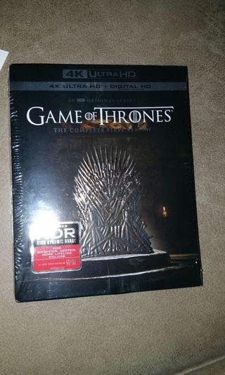 Dvd 4k game of thrones