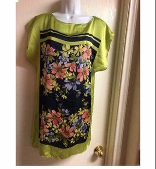 Zara Silk Floral Shift Dress #Rayathon50