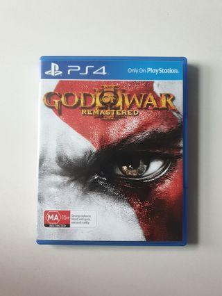 God of War Remastered for PS4