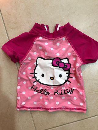 🚚 Hello Kitty Swim Top