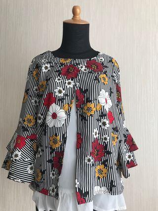 Baju (Flower Blouse)