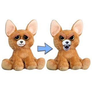 BRAND NEW Authentic Feisty Pets Animals Chihuahua Dog Chimmi Chimmi Bang Bang Stuffed Soft Toy Angry Cute Face