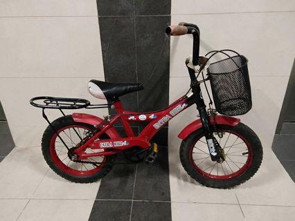 """Kids Bicycle Red 10"""""""