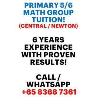 [SLOTS FILLING UP FAST!] Primary 5 & 6 Mathematics Group Intensive Revision (GIR)