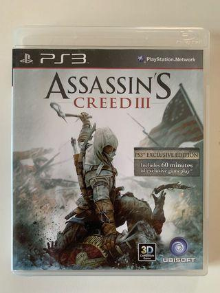 PS3 Game - Assassin's Creed 3