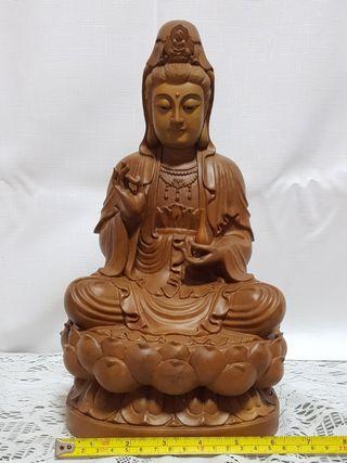 Wood Craft Guan Yin