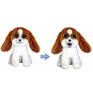BRAND NEW Authentic Feisty Pets Animals Dog Buford Buttsniffer Basset Hound Stuffed Soft Toy Angry Cute Face