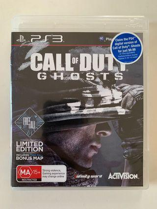 PS3 Game - Call of Duty Ghost