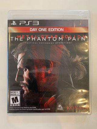 PS3 Game - Metal Gear V The Phantom Pain