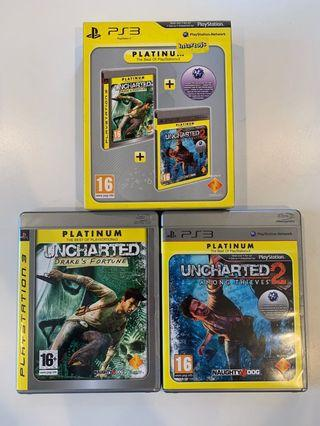 PS3 Game - Uncharted 1 and 2